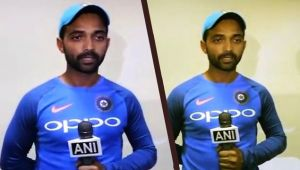 India vs West Indies : Ajinkya Rahane thanks Virat Kohli for allowing him opening