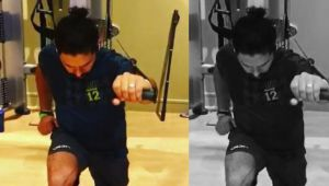 Yuvraj Singh shares video of sweating out in Gym on social media