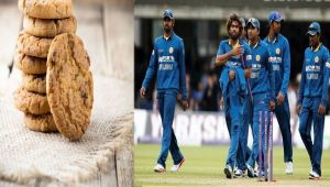 Sri Lankan cricket put a ban on biscuits in the dressing room