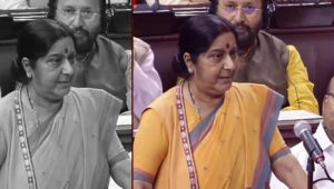 Sushma Swaraj slams opposition on issue of climate change