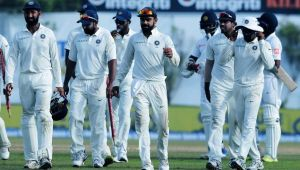India beats Sri Lanka to whitewash test series 3 0, Dhawan bags Man of the series