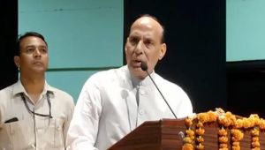 Rajnath assures countrymen of finding solution to Kashmir issue before 2022