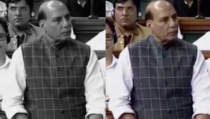 Rahul Gandhi car attack: Rajnath Singh speaks on the issue in Lok Sabha
