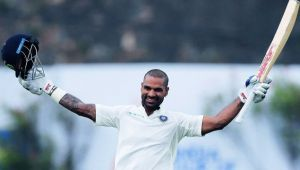 India vs Sri Lanka 3rd Test: Shikhar Dhawan completes his 6th Test century