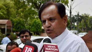 Ahmed Patel, Congress leader calls IT raids witch-hunt by BJP