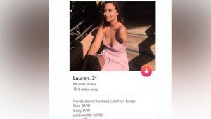 Tinder account of specially abled girl is going viral, know why