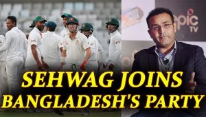 Virender Sehwag hails Bangladesh after record win against Australia