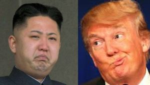 Trump Kim hairstyle swap: the best trade ever