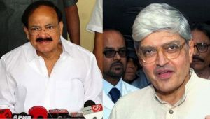 VicePresident Elections: 771 out of 785 MPs cast their votes, Naidu confident of win