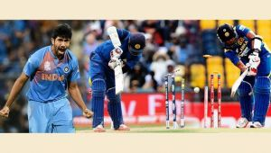 India vs Sri Lanka 3rd ODI: Bumrah takes his maiden 5 wicket haul, figures of 5/27