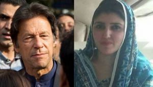 Imran Khan accused of sending indecent messages to female party workers
