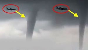 Sochi : Airplane makes safe landing after avoiding 3 tornadoes in Black sea, Watch