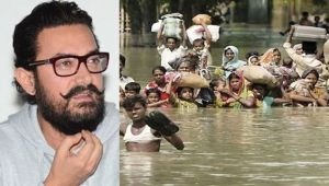 Aamir Khan sent cheque of 25 lakh rupyee for Bihar Flood Victims