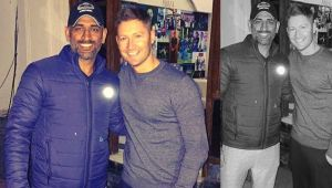 MS Dhoni lauded by Michael Clarke