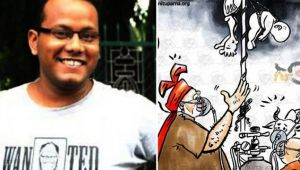 Assam cartoonist gets threat after criticising Modi in his work