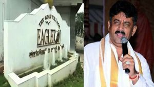 IT raid at Bengaluru resort hosting Gujarat MLAs and Shivakumar residence
