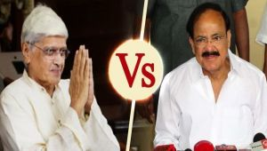 Vice-Presidential elections: Venkaia Naidu face off with Gopal Krishna Gandhi