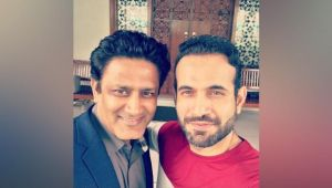 Anil Kumble hosted lunch at home by Irfan Pathan