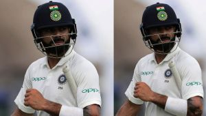 India Vs Sri Lanka Colombo Test : Virat Kohli departs for 13