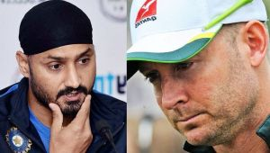 Harbhajan Singh gets reply Michael Clarke over mocking Aussies