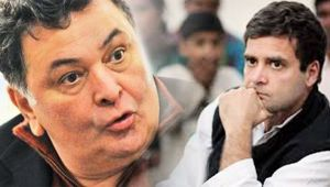 Rishi Kapoor vents out anger over Rahul Gandhi's remark on dynastic legacy