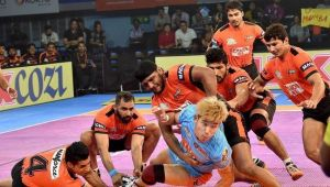 PKL 2017: U Mumba thrash Bengal Warriors 37-31, highlights