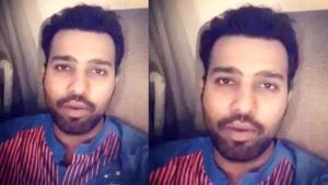 India vs Sri Lanka : Rohit Sharma posts video message for his fans