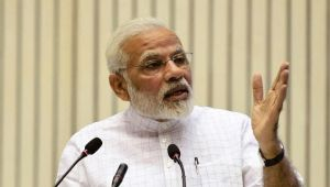 PM Modi says those respecting women have right to say Vande Mataram