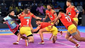 PKL 2017: Jaipur Pink Panthers beat Gujarat Fortune Giants 31 25, Highlights