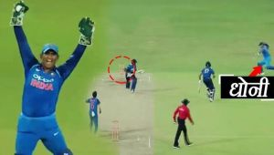 India vs Sri Lanka 5th ODI : MS Dhoni shows presence of mind, gets de Silva run out