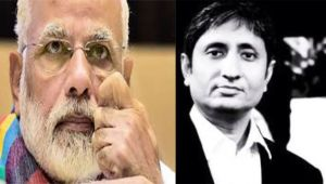 Ravish Kumar writes open letter to PM Modi, displayed on channel website