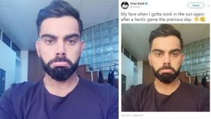 India vs Sri Lanka T 20I: Virat Kohli posts stressed picture after ODI series win