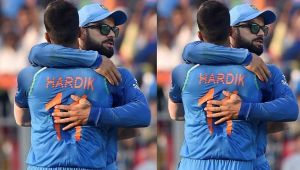 India vs Australia 1st ODI : Virat Kohli hails Hardik Pandya for his innings