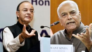Yashwant Sinha hits out at Arun Jaitley for making a mess of the Indian economy