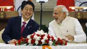 Japanese PM Shinzo Abe to be welcomed by PM Modi in Gujarat today
