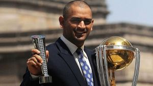 MS Dhoni named for Padama Bhushan Award by BCCI