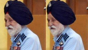 Marshal of IAF Arjan Singh admitted to hospital after cardical arrest