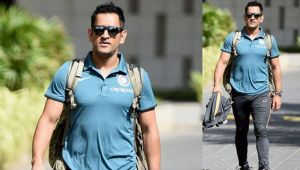 MS Dhoni hailed as King by BCCI, as he enters MA Chidambaram Stadium