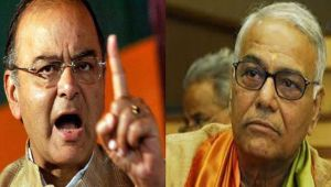 Arun Jaitley breaks silence, lashes out at BJP Veteran Yashwant Sinha