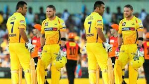MS Dhoni hailed by Brendon McCullum for his 100 stumpings