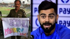 Virat Kohli gets an embarrassing marriage proposal from Pakistan