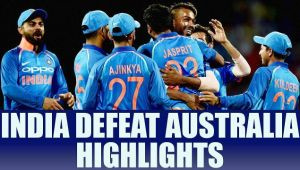 India beat Australia by 26 runs in 1st ODI, Highlights