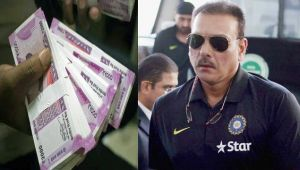 Ravi Shastri gets first pay cheque as Team India coach