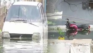 Hyderabad : Heavy rain throws life out of gear in the city