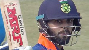 India vs NZ 1st ODI : Virat Kohli hits 46th 50 in his 200th ODI