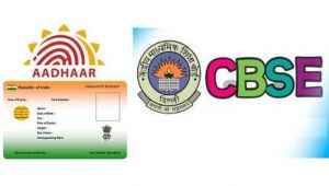 Aadhar has been made mandatory by the government to write CBSE Exams