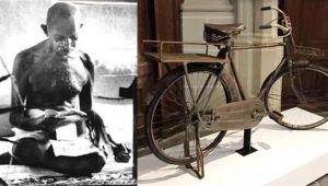 Netherlands going gaga over Mahatma Gandhi's bicycle and his legacy