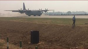 IAF practices drill on Agra-Lucknow Expressway