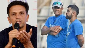 Rahul Dravid reacts on Anil Kumble's exit from Indian team