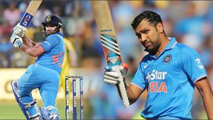 India vs NZ 3rd ODI : Rohit Sharma hits 35 Odi 50, gets back to his form